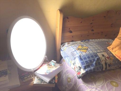 Lámpara de Luminoterapia e insomnio: la luz un excelente somnífero