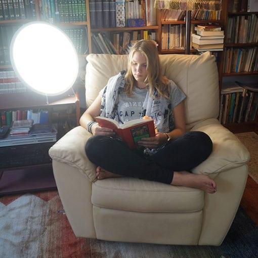 Lámpara de Luminoterapia para estudiar