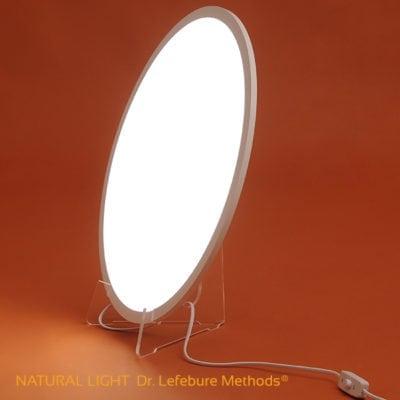 Lámpara de Luminoterapia Natural Light: baños de luz, fototerapia
