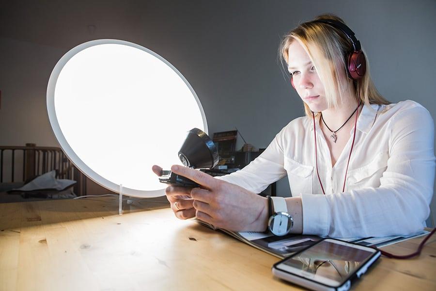 Fosfenos y neuropedagogía la nueva pedagogía de luz